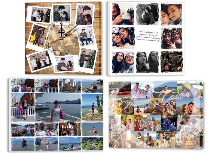 Заказать фотоколлаж на холсте в Fotopodarok.com.ua