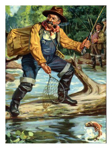 рыбак охотник образ жизни