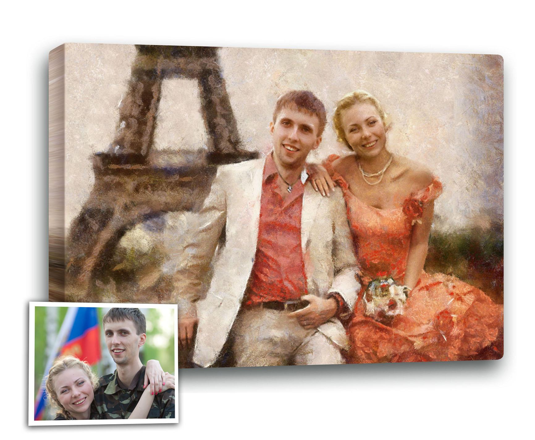 Фото-картина с фото в подарок